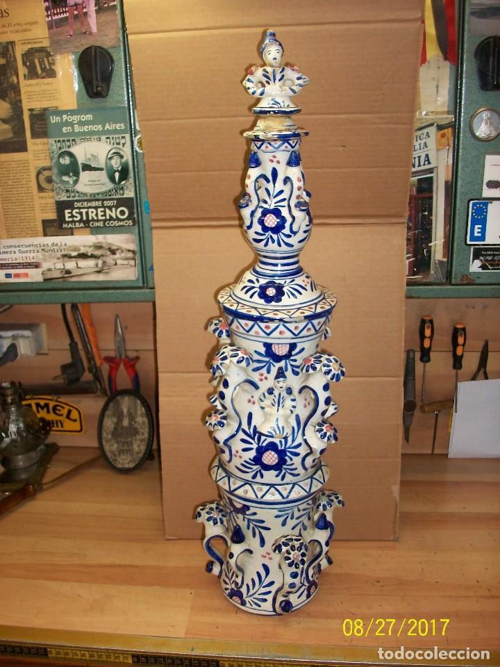 ANTIGUAS PIEZAS DE CERAMICAS (Antigüedades - Porcelanas y Cerámicas - Talavera)