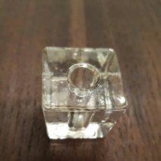 Antigüedades: PORTALAPICES INDIVIDUAL CRISTAL #. Lote 96440494