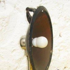 Antigüedades: LAMPARA ANTIGUA ATELLIER SAFTY CIRCA 1930 USO Y DECORACION INDUSTRIAL TIPO PARABOLICA INFRAROJOS . Lote 96447167