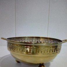 Antigüedades: CENTRO DE MESA DORADO. Lote 96548639