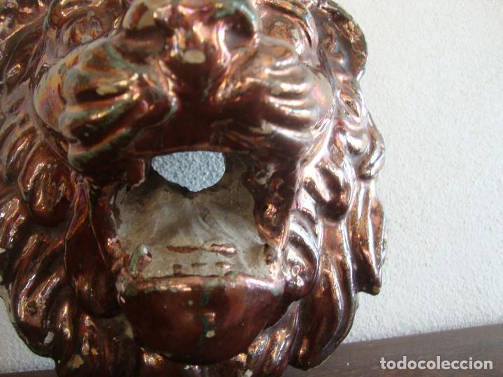 Antigüedades: Boca de fuente ceramica de Triana Reflejo - Foto 3 - 96552923