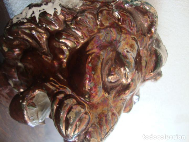 Antigüedades: Boca de fuente ceramica de Triana Reflejo - Foto 4 - 96552923