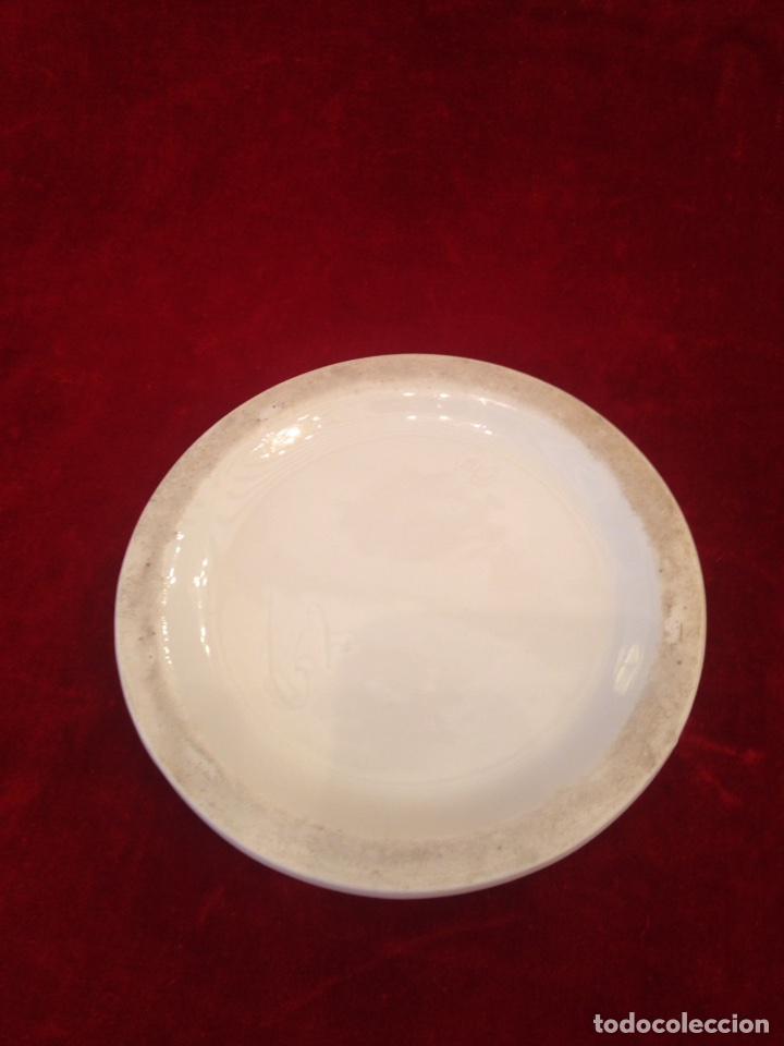 Antigüedades: Macetero de porcelana con base, siglo XIX - Foto 13 - 96584779