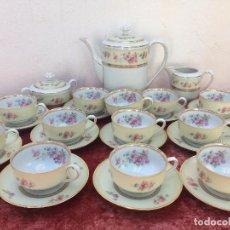 Antigüedades: JUEGO DE CAFE EN PORCELANA DE BAVARIA SELLADO. Lote 96595783