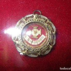 Antigüedades: RELICARIO CON RELIQUIA DE S. IGNATII DE LOYOLA, . Lote 96635447
