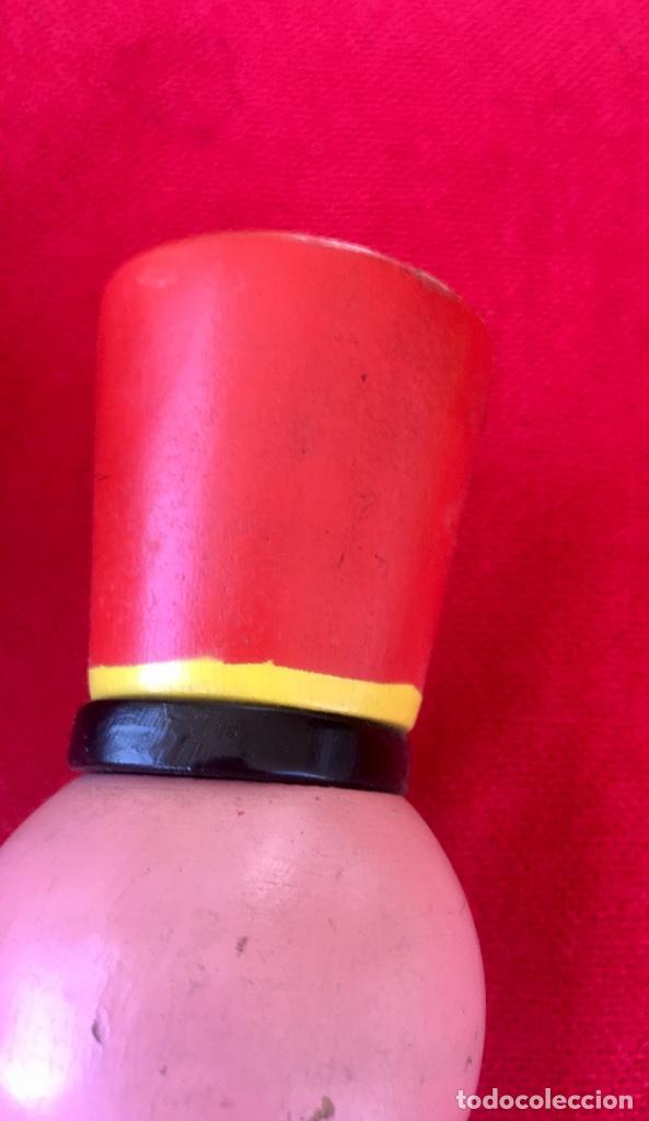 Antigüedades: Payaso y soldado artesanales 1950 calzadores pintados a mano circo colores vivo decoracion infantil - Foto 23 - 96676699