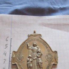 Antigüedades: MEDALLA PLATEADA SAN JUAN DE LA SALLE. Lote 96679567