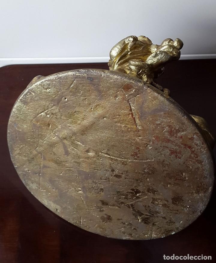 Antigüedades: PORTA VELAS ANGELES MUSICALES - Foto 4 - 96693843