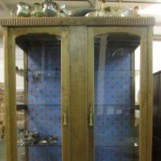 Antigüedades: MUEBLE VITRINA #. Lote 96718411