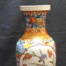 Antigüedades: 1 JARRON CHINO, BUCARO, FLORERO, MIDE DE ALTO 36 CM. Lote 96722359
