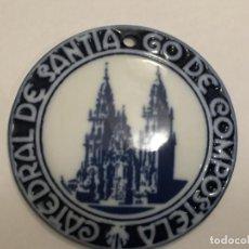 Antigüedades: MEDALLA DE SARGADELOS ** CATEDRAL DE SANTIAGO DE COMPOSTELA**. Lote 96722383