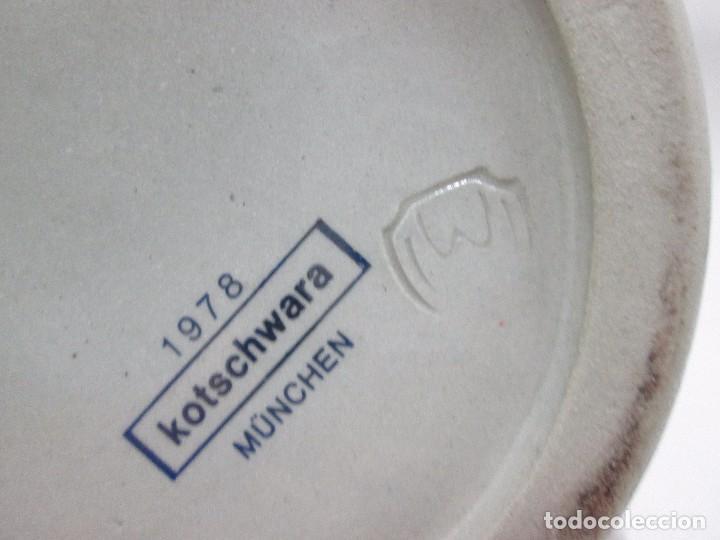 Antigüedades: A-346/ JARRA DE CERVEZA ALEMANA KOTSCHWARA / MÜNCHEN / 1978 - MIDE 14 CM ALTO - Foto 8 - 96735499