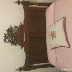 Antigüedades - Cama matrimonio ornamentada - 96752879