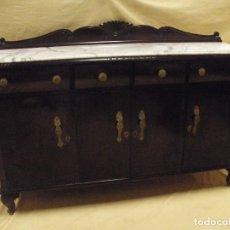 Antigüedades: APARADOR DE COMEDOR ANTIGUO. Lote 96755207