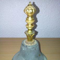 Antigüedades: ANTIGUA Y PRECIOSA CAMPANA DE BRONCE *BONITO SONIDO*. Lote 96756760