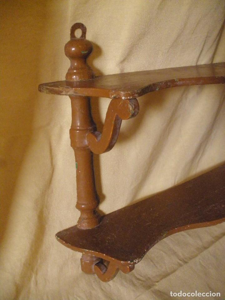 Antigüedades: Repisa antigua - Foto 2 - 96774771