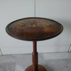 Antigüedades: MESA VELADOR TALLADA CHINA TAILANDESA JAPONESA ?. Lote 96783514