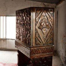 Antigüedades: ARMARIO INCA TALLADO 1920. Lote 96793447