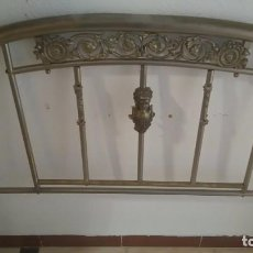 Antigüedades: CAMA COMPLETA. Lote 96811695
