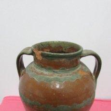 Antigüedades: JARRON CERAMICA MARRON #. Lote 96831787