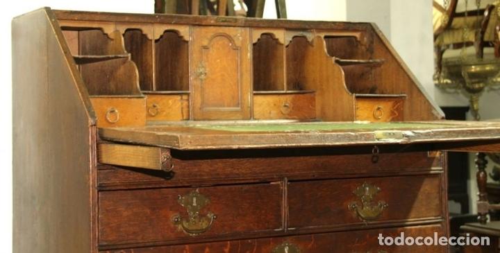 Antigüedades: CANTERANO EN MADERA DE ROBLE. ESTILO REINA ANA. INGLATERRA. CIRCA 1750. - Foto 2 - 57343570
