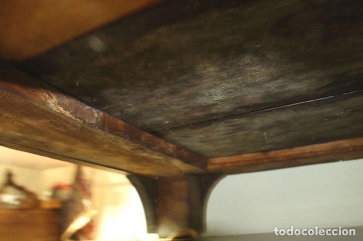 Antigüedades: CANTERANO EN MADERA DE ROBLE. ESTILO REINA ANA. INGLATERRA. CIRCA 1750. - Foto 8 - 57343570