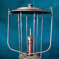 Antigüedades: ANTIGUA LAMPARA DE PETROLEO. TITUS TITOLANDI. PARIS. FAROL. QUINQUE. . Lote 96859923