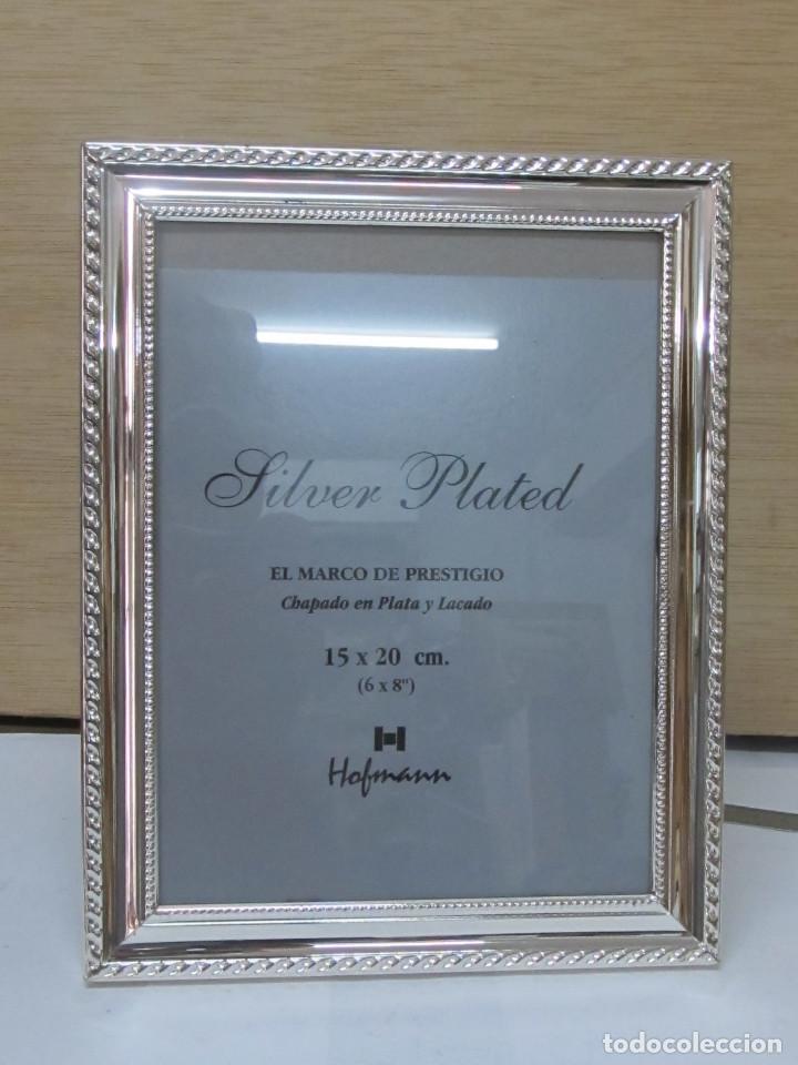 marco hofmann bañado en plata y lacado (15 x 20 - Comprar Marcos ...