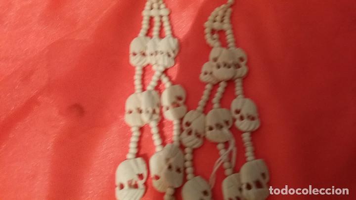 Antigüedades: collar de marfil - Foto 3 - 96900023