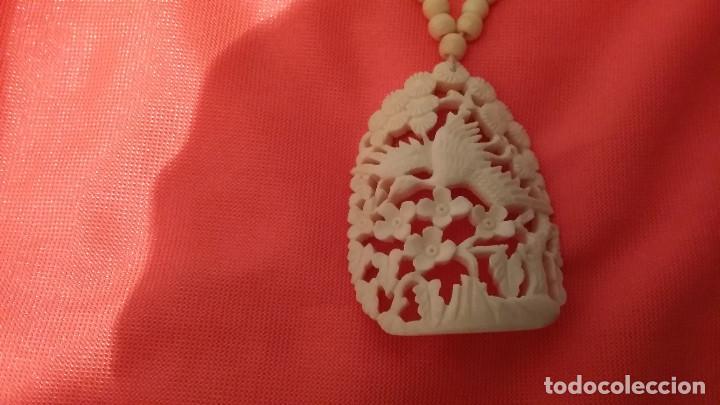 Antigüedades: collar de marfil - Foto 2 - 96900055