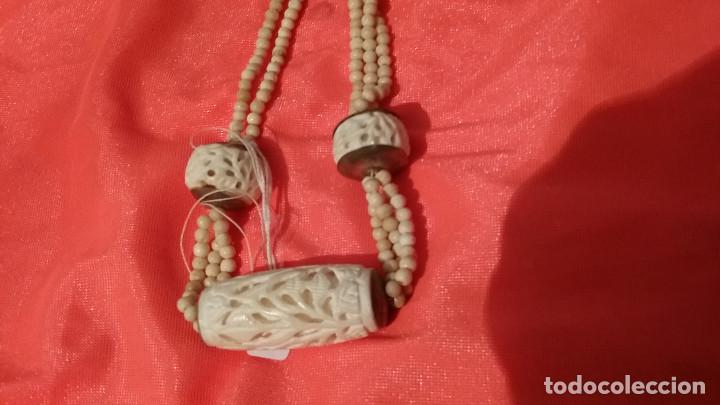 Antigüedades: collar de marfil - Foto 2 - 96900167
