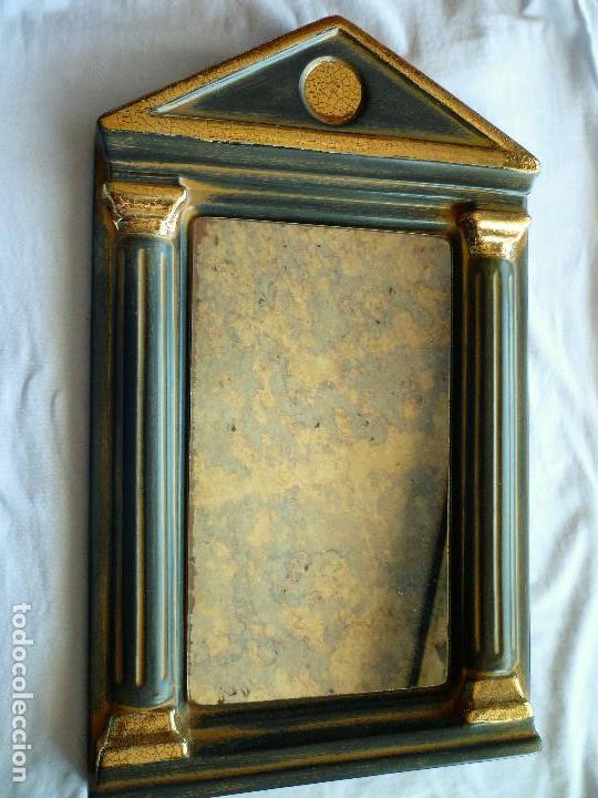 Espejo en capilla de resina solida replica de a comprar espejos antiguos en todocoleccion - Espejos de resina ...