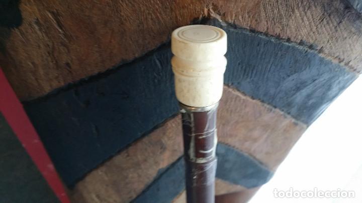 Antigüedades: baston mango de hueso - Foto 2 - 96935195