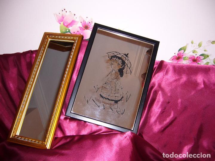 2x1 regalo-cuadro espejos-espejo-preciosos-lote - Comprar Marcos ...