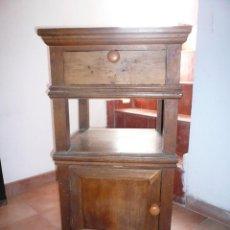 Antigüedades: ANTIGUO MUEBLE PARA PRENSA DE LIBROS. Lote 96945143