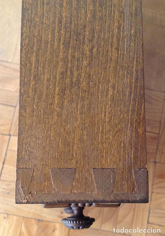 Antigüedades: ROBUSTO MUEBLE AUXILIAR DE MÚLTIPLES USOS - MADERA MACIZA - EXCELENTE CONSERVACIÓN - Foto 6 - 96945391