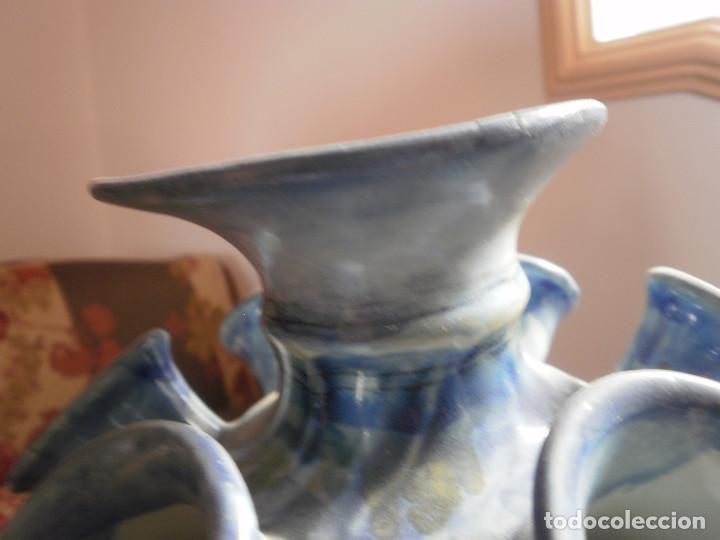 Antigüedades: Jarrón florero. - Foto 7 - 96948883