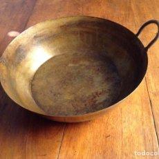 Antigüedades: CAZUELA HIERRO FUNDIDO. Lote 96957330