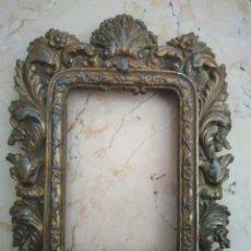 Antigüedades: ANTIGUO MARCO DE BRONCE. 17 X 22 CM. MEDIDAS INTERIORES : 14 X 9.5 CM. Lote 96959211