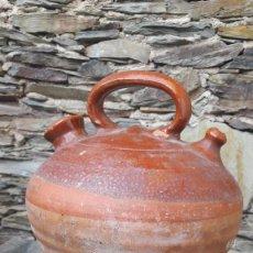 Antigüedades: BOTIJO EN CERÀMICA CATALANA. Lote 96991103