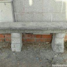 Antigüedades: ANTIGUO BANCO DE PIEDRA DE GRANITO. Lote 97012274