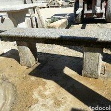 Antigüedades: ANTIGUO BANCO DE PIEDRA DE GRANITO. Lote 97012282