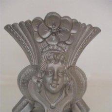 Antigüedades: ANTIGUO CENTRO DE MESA - JARRÓN - ART NOVEAU - MODERNISTA - TERRACOTA - OLOT - PRINCIPIOS - S. XX. Lote 97022343