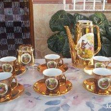 Antigüedades: ANTIGUO JUEGO DE CAFE. Lote 97035243
