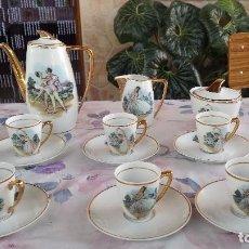 Antigüedades: ANTIGUO JUEGO DE CAFE. Lote 97035427