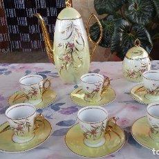 Antigüedades: ANTIGUO JUEGO DE CAFE. Lote 97035627