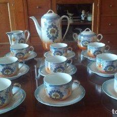 Antigüedades: ANTIGUO JUEGO DE CAFE. Lote 97035803