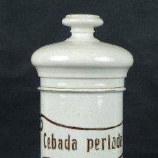 Antigüedades: BOTE DE FARMACIA EN CERÁMICA SIGLO XIX. Lote 97054851