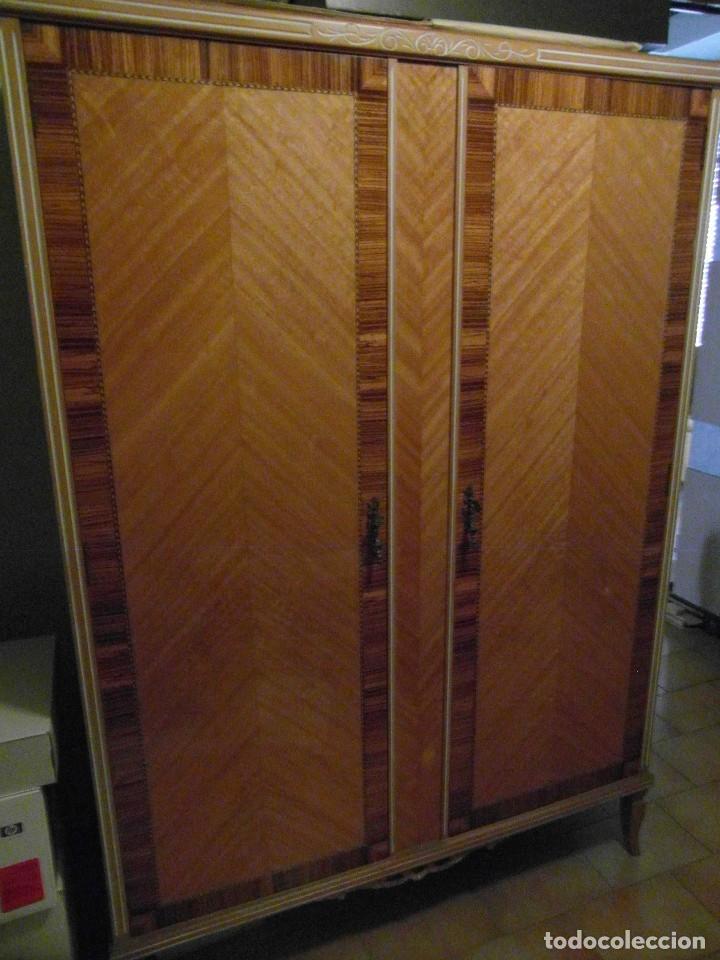 precioso antiguo armario ropero de 2 puertas - Comprar Armarios ...