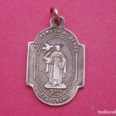 Antigüedades: MEDALLA CONMEMORATIVA DE SANTA TERESA DE JESÚS. AÑO 1882.. Lote 97068355
